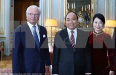 Se reúne premier de Vietnam con el Rey de Suecia