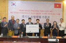 Provincia vietnamita de Ha Nam da bienvenida a empresas surcoreanas