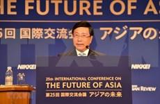 Interviene vicepremier y canciller de Vietnam en Conferencia Internacional sobre Futuro de Asia