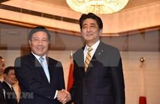 Vicepremier de Vietnam se reúne con Shinzo Abe al margen de conferencia en Japón