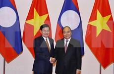 Premier vietnamita recibe a su homólogo laosiano