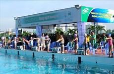 Lanzan en Ciudad Ho Chi Minh campaña de natación contra ahogamientos