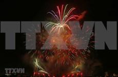 Desarrollan Festival Internacional de Fuegos Artificiales en Vietnam