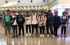 Entrenan jóvenes tenistas vietnamitas en Suecia