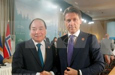 Visita a Vietnam del primer ministro italiano impulsará nexos bilaterales