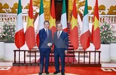 Afirma primer ministro de Italia que su país considera a Vietnam un socio de primera categoría