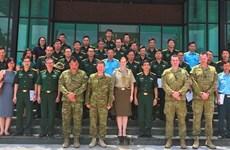 Comparte Australia experiencias con Vietnam en transporte médico aéreo