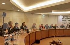 Partidos Comunistas de Vietnam y Francia realizan su tercer seminario teórico