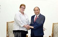 Exhorta premier de Vietnam a fortalecer asociación estratégica con Australia