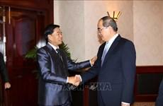 Fortalecen Vietnam y Laos cooperación entre sus localidades