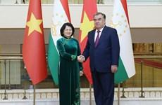 Sostiene vicepresidenta vietnamitas encuentros con dirigentes mundiales