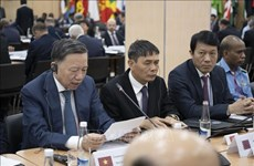 Vietnam asiste a Conferencia de Jefes de Seguridad en Rusia