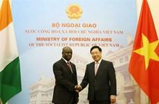 Vietnam y Costa de Marfil robustecen relaciones