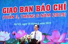Felicita viceprimer ministro de Vietnam a periodistas en el Día de la Prensa Revolucionaria