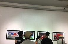 Presentan exposición de fotoperiodismo en ocasión del Día de la Prensa Revolucionaria de Vietnam
