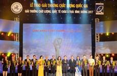 Otorgarán en Vietnam a 75 empresas el Premio Nacional de Calidad
