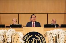 Vietnam se compromete a cumplir con las obligaciones de membresía de la OIT