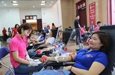 Celebra provincia vietnamita de Lai Chau programa de donación de sangre