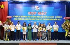 Destacan en Vietnam el papel de la prensa en el desarrollo nacional