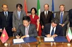 Buscan Vietnam e Italia una mayor asociación económica y comercial