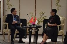 Vietnam está decidido a fortalecer relaciones con Indonesia, afirma su viceprimer ministro
