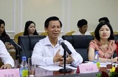 """Vietnam y China impulsan proyecto turístico """"Dos países, seis destinos"""""""