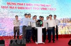 Inauguran una nueva planta fotovoltaica en provincia sureña de Vietnam