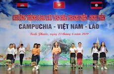 Intercambio juvenil entre Vietnam, Laos y Camboya