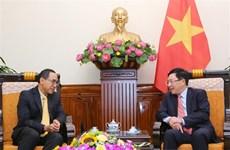Destacan crecimiento de nexos Vietnam-Tailandia
