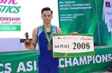 Ganan gimnastas vietnamitas dos medallas de bronce en torneo asiático