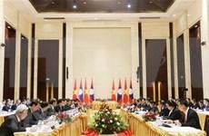 Fortalecen cooperación entre Vietnam y Laos en múltiples esferas