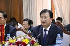 Destacan dirigentes laosianos el desarrollo fructífero de los nexos con Vietnam