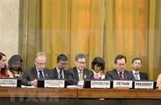 Vietnam preside plenario de la Conferencia de Desarme