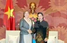 Presidenta parlamentaria elogia apoyo de UNICEF a protección infantil en Vietnam
