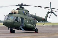 Desaparece helicóptero militar indonesio con 12 personas a bordo