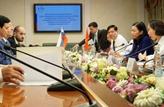 Evalúan la aplicación de los tratados internacionales entre Vietnam y Rusia