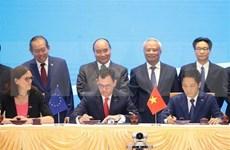 Prensa internacional destaca la firma de acuerdo de libre comercio entre UE y Vietnam