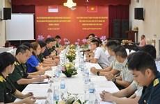 Intercambian experiencias jóvenes oficiales de Vietnam y Singapur