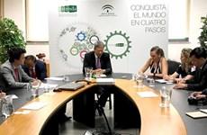 Realiza provincia vietnamita promoción comercial en España