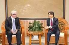 Reconoce Vietnam contribución de embajador australiano al fortalecimiento de los lazos bilaterales