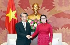 Vietnam prioriza asociación estratégica integral con China, afirma presidenta parlamentaria