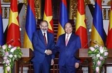 Proyectan Vietnam y Armenia impulsar nexos comerciales