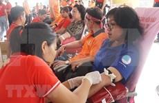 Donan en Vietnam más de mil 500 unidades de sangre durante campaña voluntaria