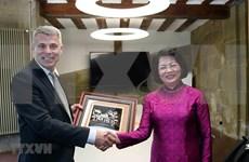 Aboga vicepresidenta de Vietnam por impulso de nexos con Berna