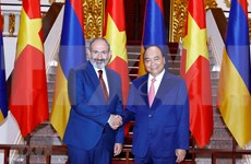Primer ministro de Armenia concluye visita oficial a Vietnam