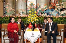 Dirigente de provincia china de Jiangsu aspira a una mayor cooperación con Vietnam