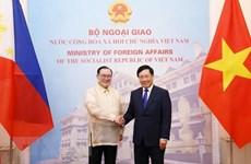 Vietnam y Filipinas consideran establecimiento de mecanismo de consulta política anual