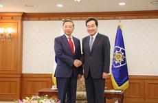 Aumentan Vietnam y Corea del Sur cooperación en seguridad