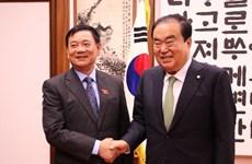 Presidente legislativo sudcoreano se compromete a prevenir violencia contra esposas vietnamitas