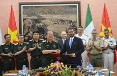 Proyectan Vietnam e Italia fortalecer nexos en defensa